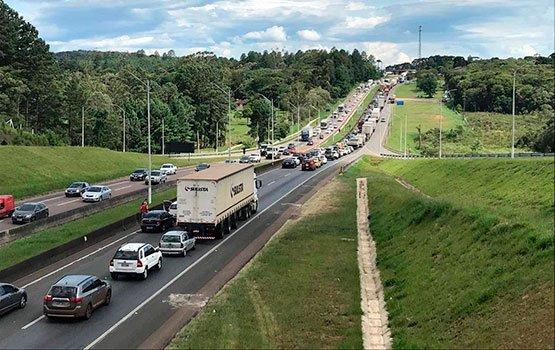 BR 367 congestionada
